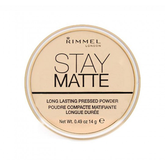 Puder matujący Rimmel Stay Matte